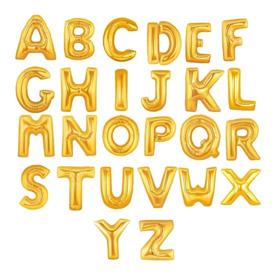 Gold/Silver Foil Letter - 40cm