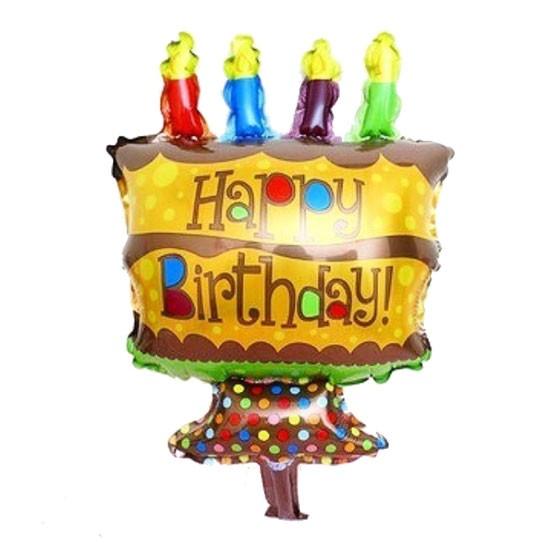 Birthday Cake Foil - 40cm