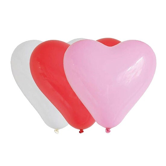 Heart Latex - 28cm 5pcs