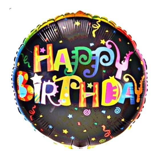 Birthday Foil Confetti - 40cm