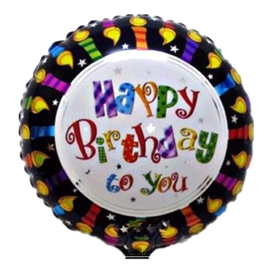 Birthday Foil Candle - 40cm