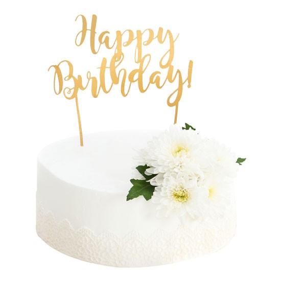Lace Ruffles Cake
