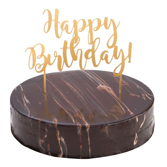 Chocolate Mousse Ganache Cake - Small