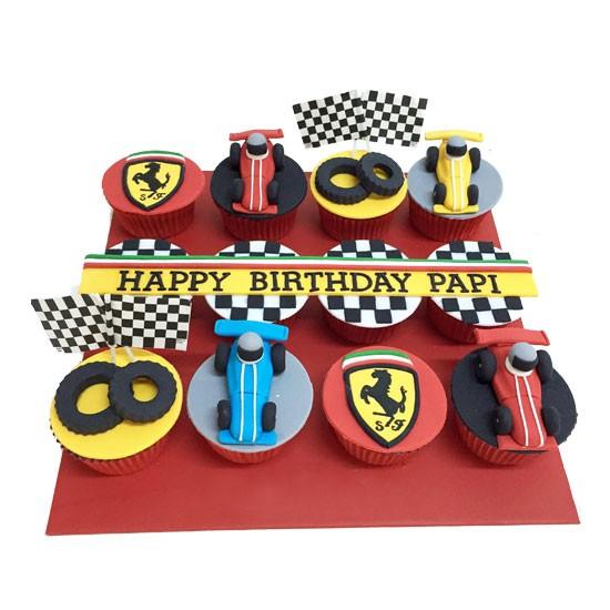 Racing Cupcake